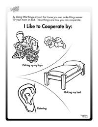 cooperation activity sheets - Activity Sheets For Preschool