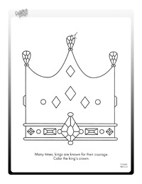 courage activity sheets