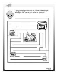 Activity Sheets | Kids and Values